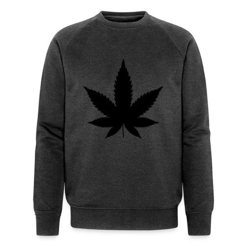 CannabisBlack - Männer Bio-Sweatshirt von Stanley & Stella