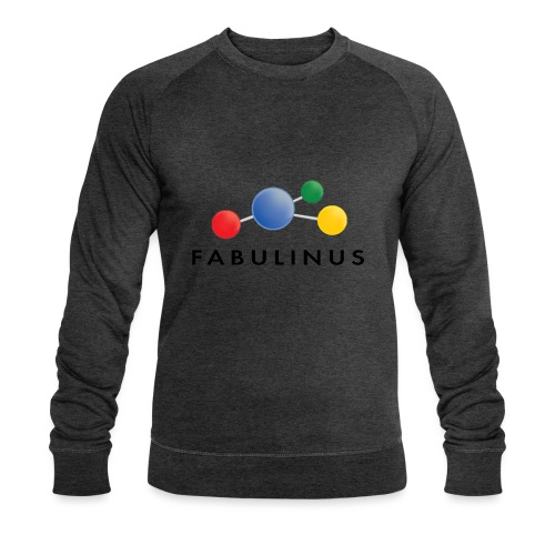 Fabulinus Zwart - Mannen bio sweatshirt van Stanley & Stella