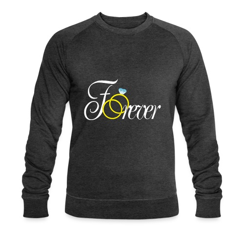 Forever Ringe. Für Immer - Männer Bio-Sweatshirt von Stanley & Stella