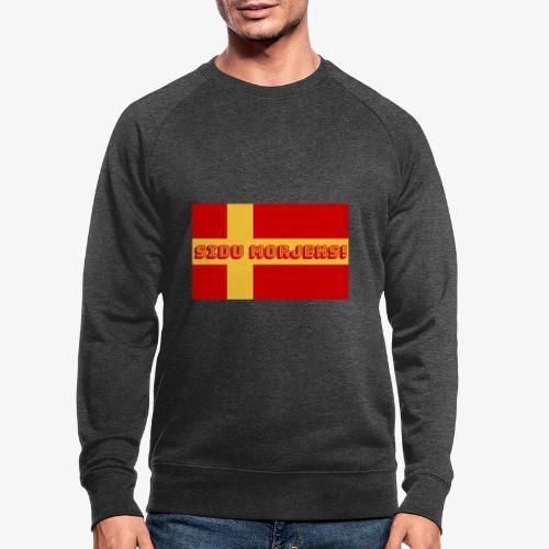 Sidu morjens! flagga - Ekologisk sweatshirt herr