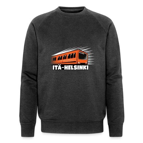ITÄ-HELSINKI METRO T-paidat, Hupparit, lahjat ym. - Miesten luomucollegepaita