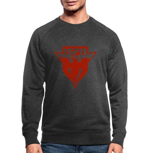 isfa logo 1c rot - Männer Bio-Sweatshirt