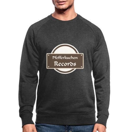 Pfefferkuchen Records Label - Männer Bio-Sweatshirt