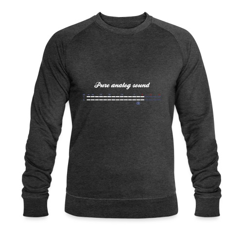 digital VU meters - Men's Organic Sweatshirt