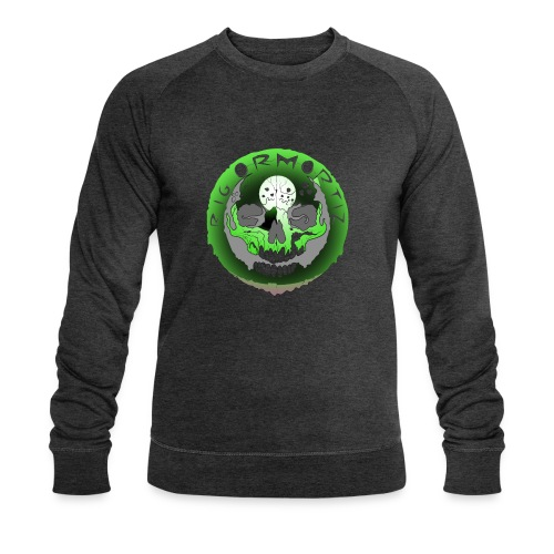 Rigormortiz Metallic Green Design - Men's Organic Sweatshirt