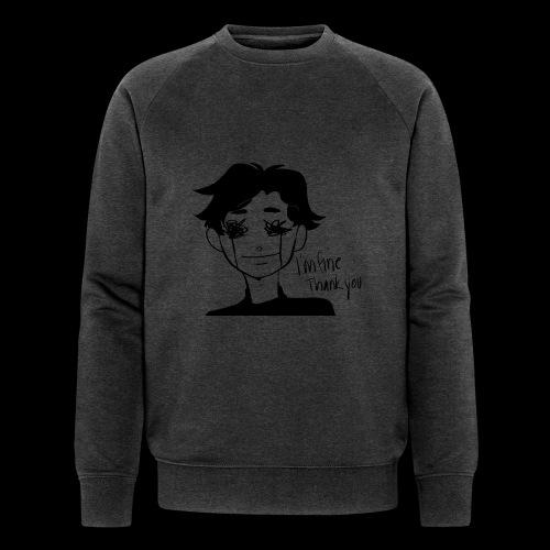 Feeling Vulnerable - Mannen bio sweatshirt