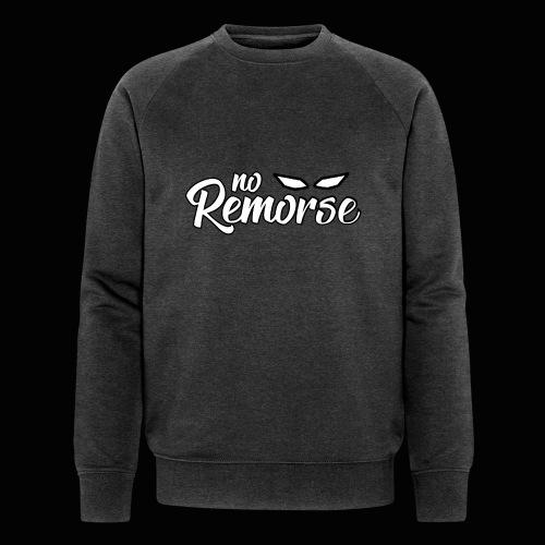 No Remorse Title With Eyes - Men's Organic Sweatshirt