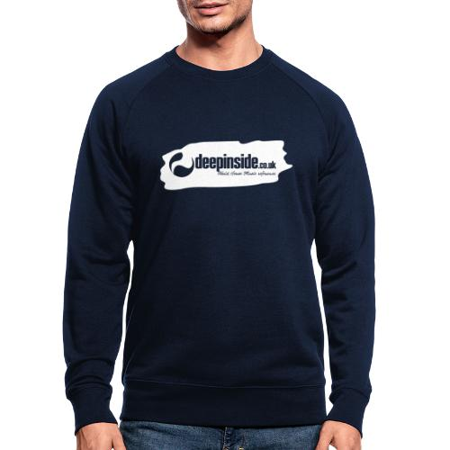 deepinside world reference marker logo white - Men's Organic Sweatshirt