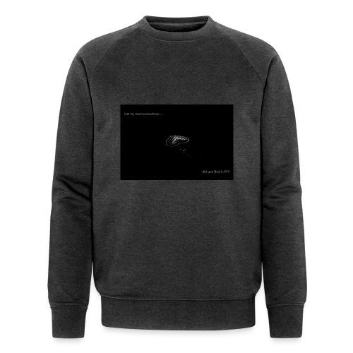 Lost Ma Heart - Men's Organic Sweatshirt by Stanley & Stella