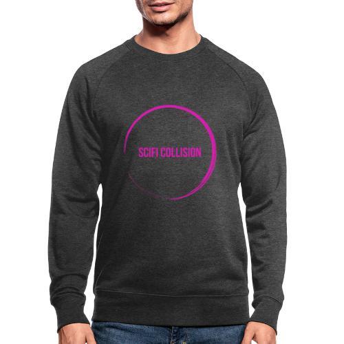 Pink Logo - Men's Organic Sweatshirt by Stanley & Stella
