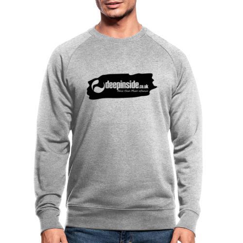 deepinside world reference marker logo black - Men's Organic Sweatshirt