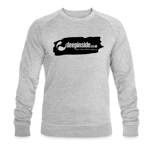 deepinside world reference marker logo black - Men's Organic Sweatshirt by Stanley & Stella
