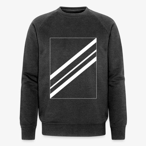 Lines - Mannen bio sweatshirt