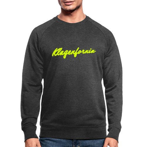 klagenfornia classic - Männer Bio-Sweatshirt