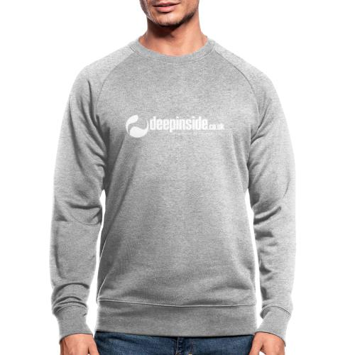 DEEPINSIDE The home of House-Music (White) - Men's Organic Sweatshirt