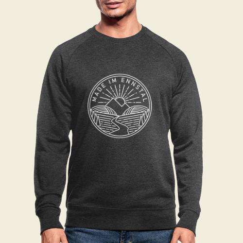 Made im Ennstal, weiß - Männer Bio-Sweatshirt