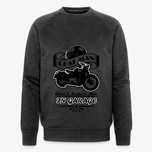 biker style - Felpa ecologica da uomo