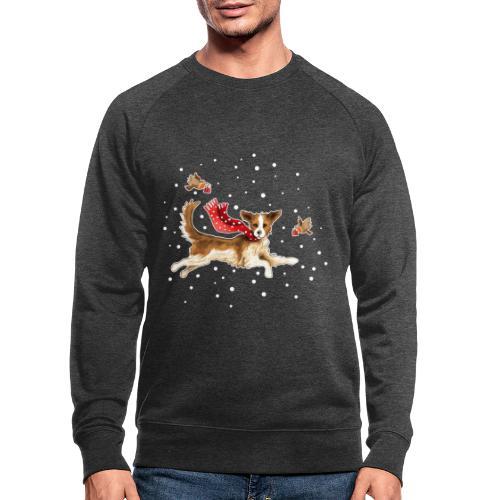 Suza met sneeuwvlokken - Men's Organic Sweatshirt