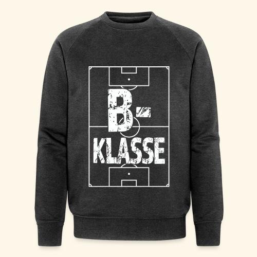 B-Klasse im Fußballfeld - Männer Bio-Sweatshirt von Stanley & Stella
