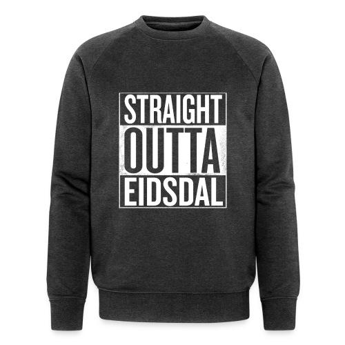 straightouttaeidsdal png - Økologisk sweatshirt for menn