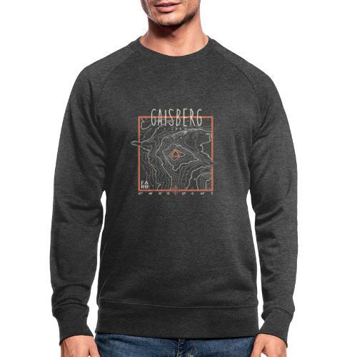Gaisberg Countour Lines - Men's Organic Sweatshirt