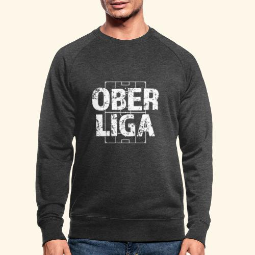 OBERLIGA im Fußballfeld - Männer Bio-Sweatshirt