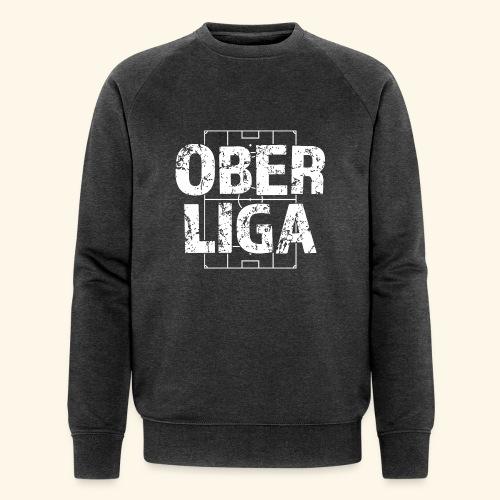 OBERLIGA im Fußballfeld - Männer Bio-Sweatshirt von Stanley & Stella