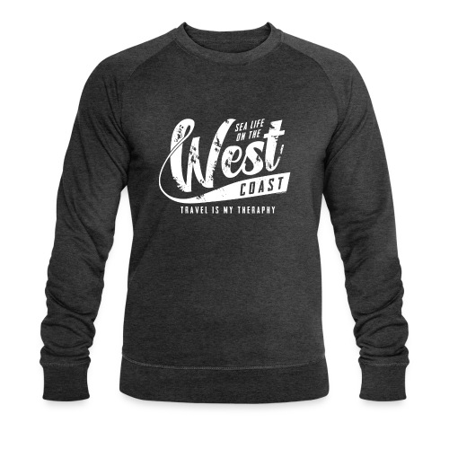 West Coast Sea Surfer Textiles, Gifts, Products - Stanley & Stellan miesten luomucollegepaita