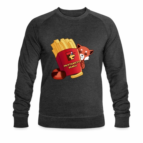 frittenfettSenpai - Männer Bio-Sweatshirt von Stanley & Stella