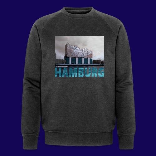 Elbphilharmonie | HAMBURG-Typo| Künstlermotiv - Männer Bio-Sweatshirt von Stanley & Stella