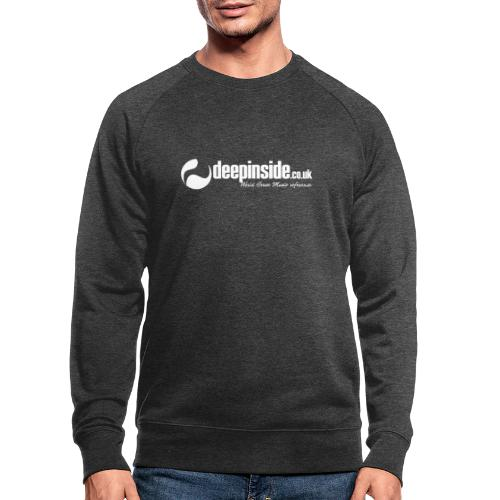 DEEPINSIDE World Reference logo white - Men's Organic Sweatshirt