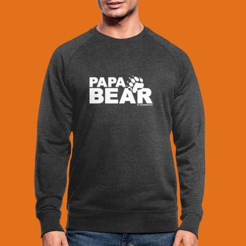 papa bear new - Men's Organic Sweatshirt
