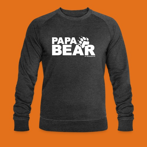 papa bear new - Men's Organic Sweatshirt by Stanley & Stella