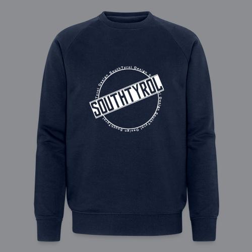 SouthTyrol Kreis weiß - Männer Bio-Sweatshirt von Stanley & Stella
