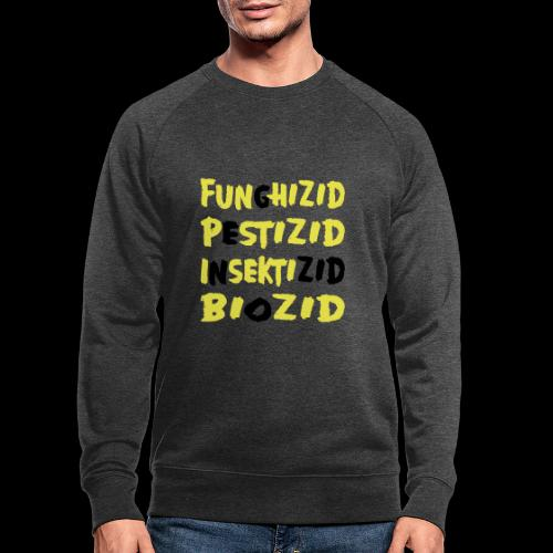 genozid - Männer Bio-Sweatshirt