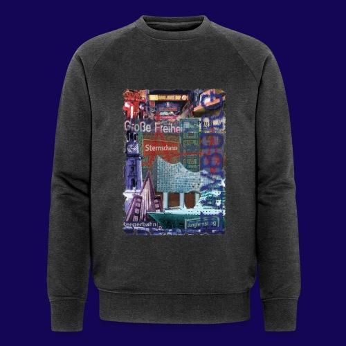 Hamburg: Die Highlights als Designer-Edition - Männer Bio-Sweatshirt von Stanley & Stella