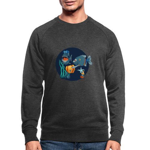 pirate piranhas - Männer Bio-Sweatshirt