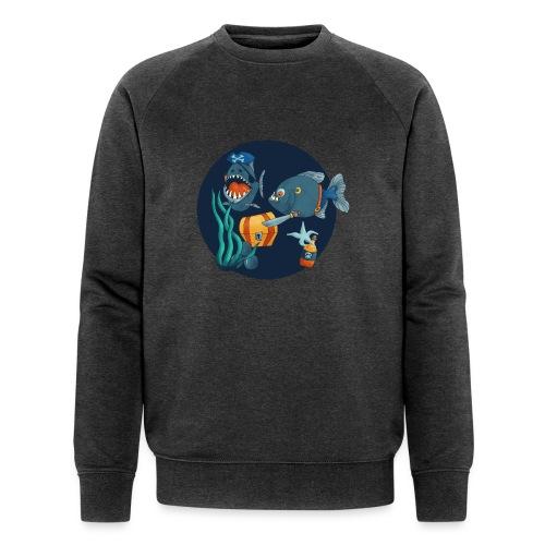 pirate piranhas - Männer Bio-Sweatshirt von Stanley & Stella