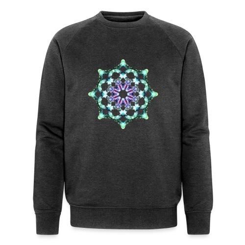 Yoga Mandala Symbol grün - Männer Bio-Sweatshirt von Stanley & Stella