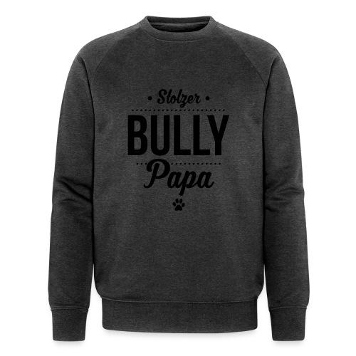Stolzer Bullypapa Punkte - Männer Bio-Sweatshirt von Stanley & Stella