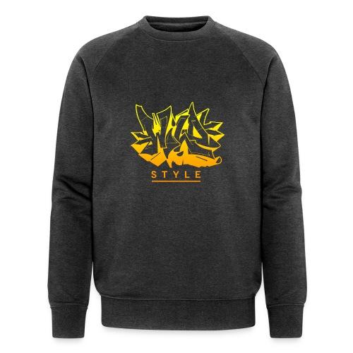 Wild Style Burner - Økologisk Stanley & Stella sweatshirt til herrer