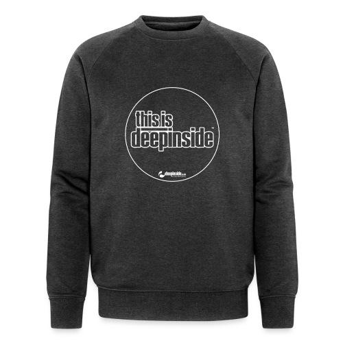 This is DEEPINSIDE Circle logo white - Men's Organic Sweatshirt by Stanley & Stella