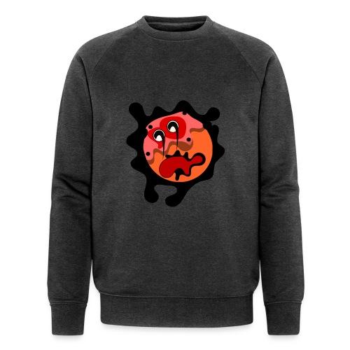 scary cartoon - Mannen bio sweatshirt