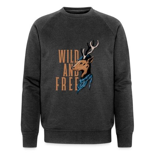 Wild and Free - Männer Bio-Sweatshirt von Stanley & Stella