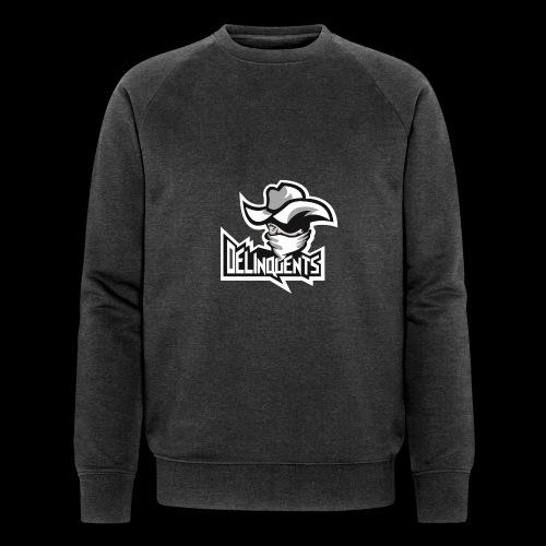 Delinquents Grå Design - Økologisk sweatshirt til herrer