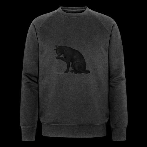 chat noir élégant - Sweat-shirt bio Stanley & Stella Homme
