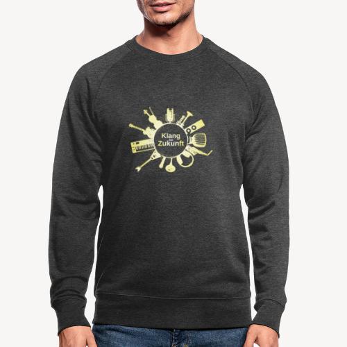 KdZ gelb - Männer Bio-Sweatshirt