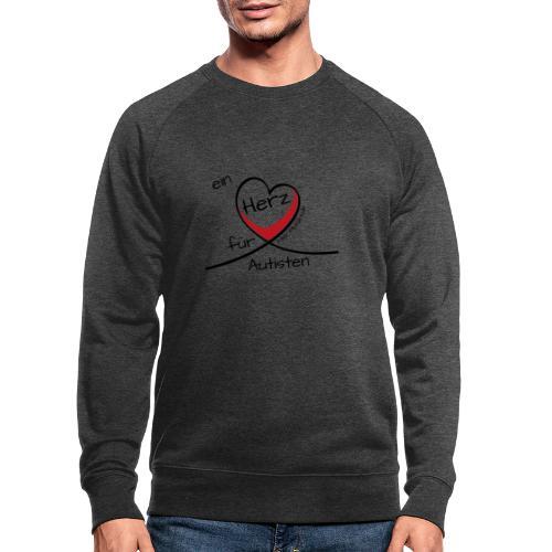 Ein Herz für Autisten - Männer Bio-Sweatshirt