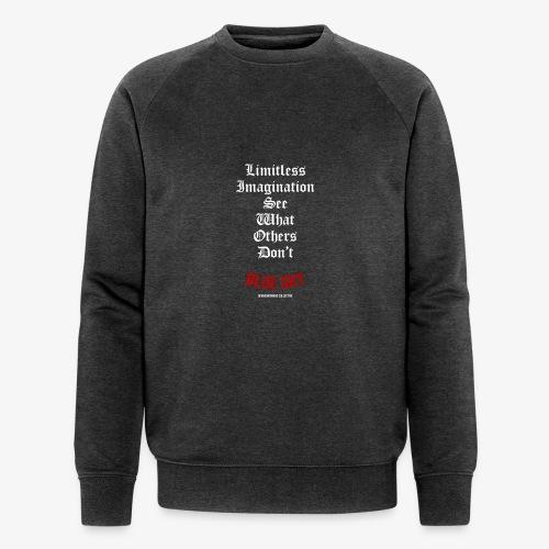 Limitless Imagination Wit - Mannen bio sweatshirt van Stanley & Stella