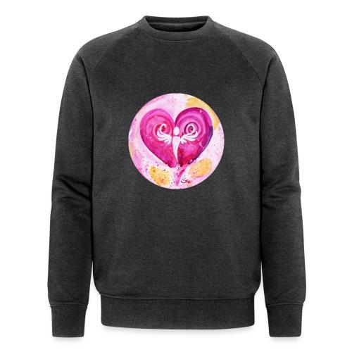 Engel des LiebesGlücks - Männer Bio-Sweatshirt von Stanley & Stella